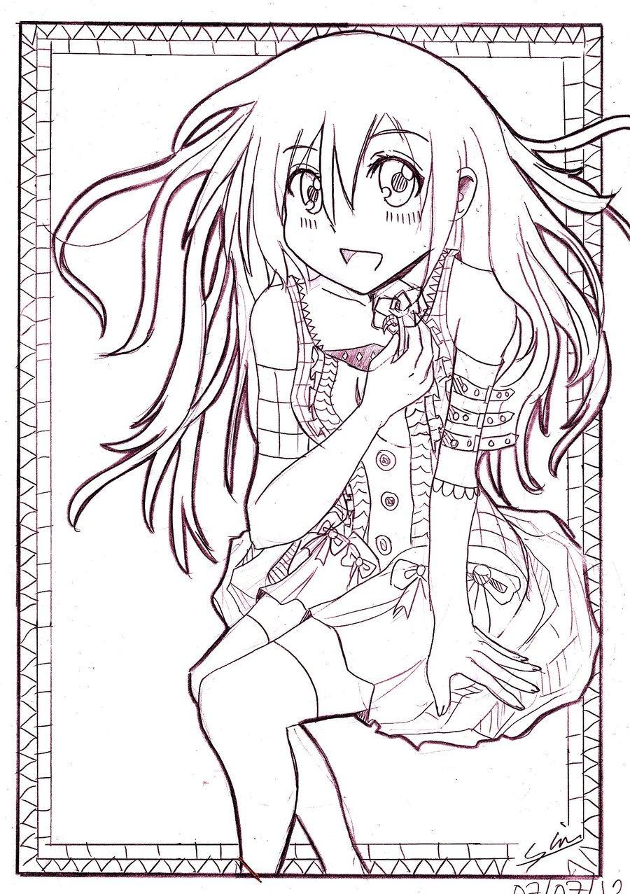 D dans Mangas kawai girl by seblin8888 d56lnhd
